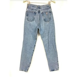 Vintage Guess USA Jeans 28 Actual 27x30 Light Wash